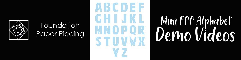Mini FPP Alphabet Demonstration Videos