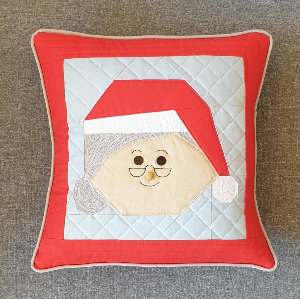 Mrs Claus FPP Cushion