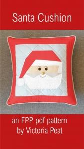 Santa Cushion FPP pattern