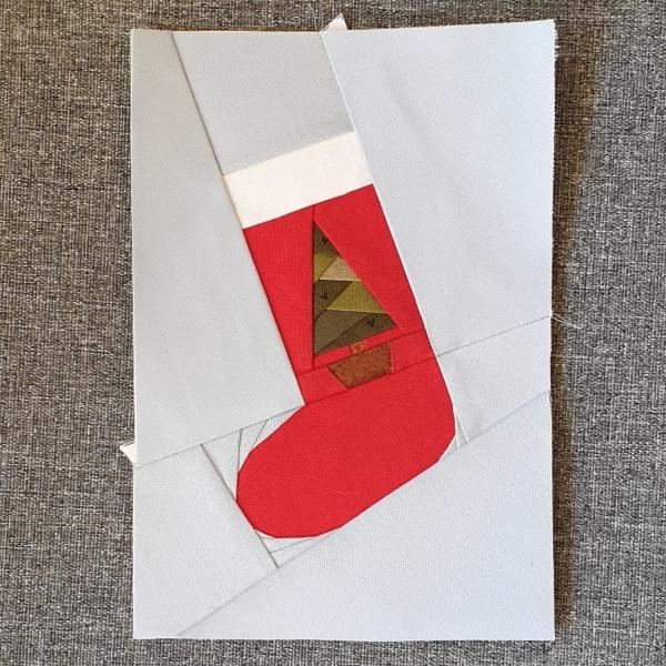 Christmas Stocking FPP with Tree