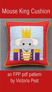 Mouse King FPP Cushion pattern