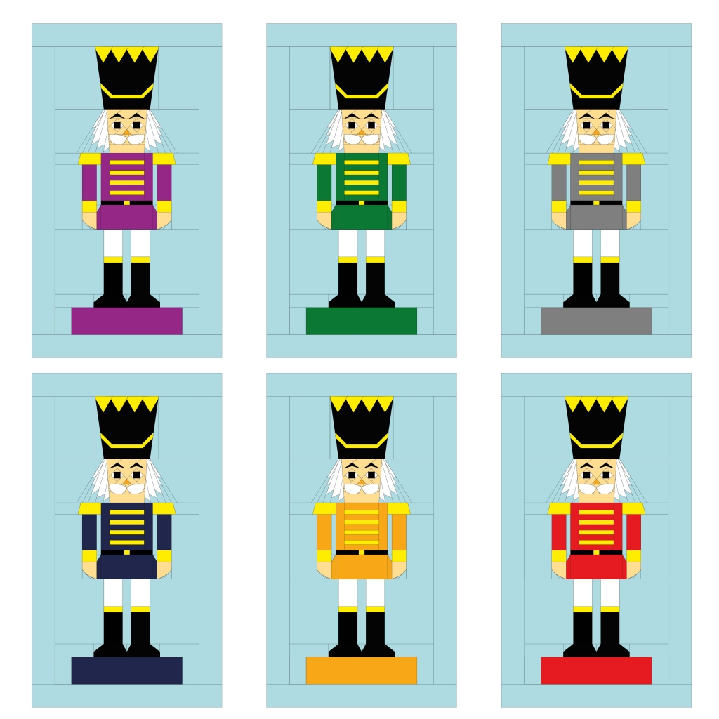 Nutcracker Wall Hanging Jacket Colour Options