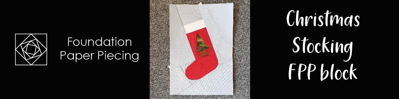 Christmas Stocking FPP pdf pattern
