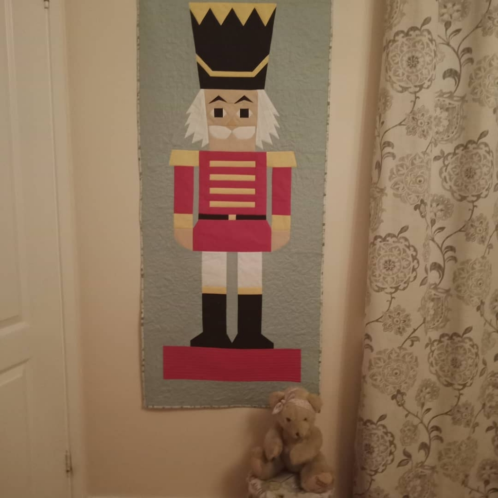 Sew Nana Nutcracker Wall Hanging