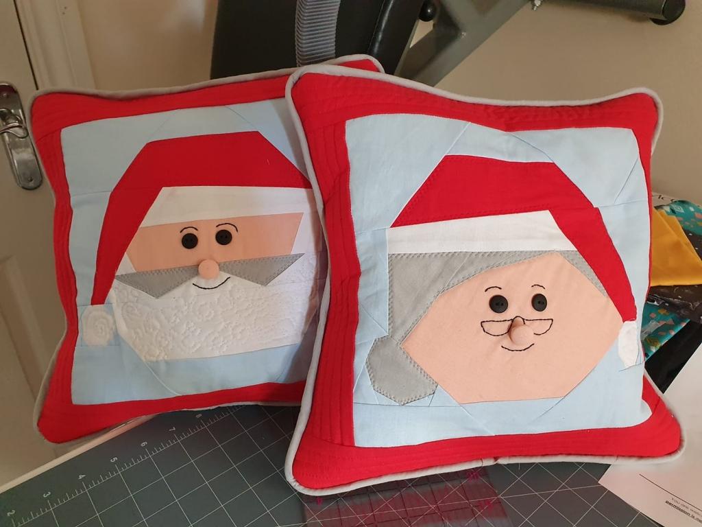 Samantha Brodie Santa and Mrs Claus