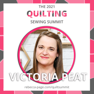 Victoria Peat Rebecca Page Quilting Summit