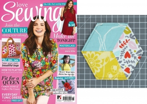 Pieced Fabric Coasters for Love Sewing issue 36