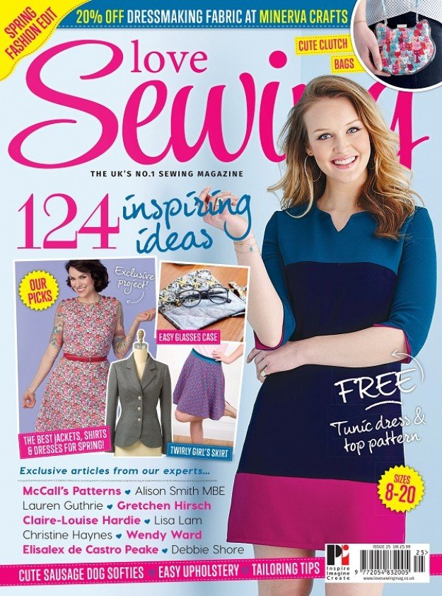 Love Sewing Issue 25 Front Cover
