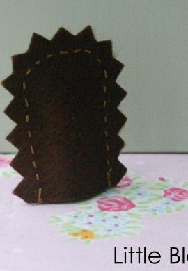 Hedgehog Back Detail