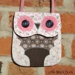 Pink Owl Bag