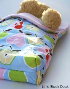 Sleeping Bag base detail