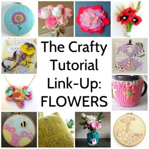 Flower Tutorial Link Up