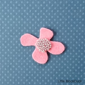 Small Petal with Beads