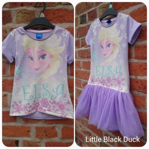 Elsa T-shirt Dress