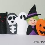 Halloween Friends Finger Puppets