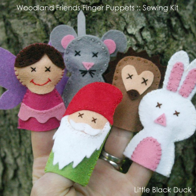 Woodland Friends Finger Puppets