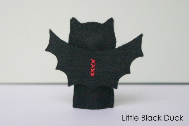 Bat Finger Puppet Sewing Pattern