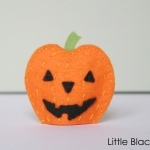 Pumpkin Finger Puppet Sewing Pattern