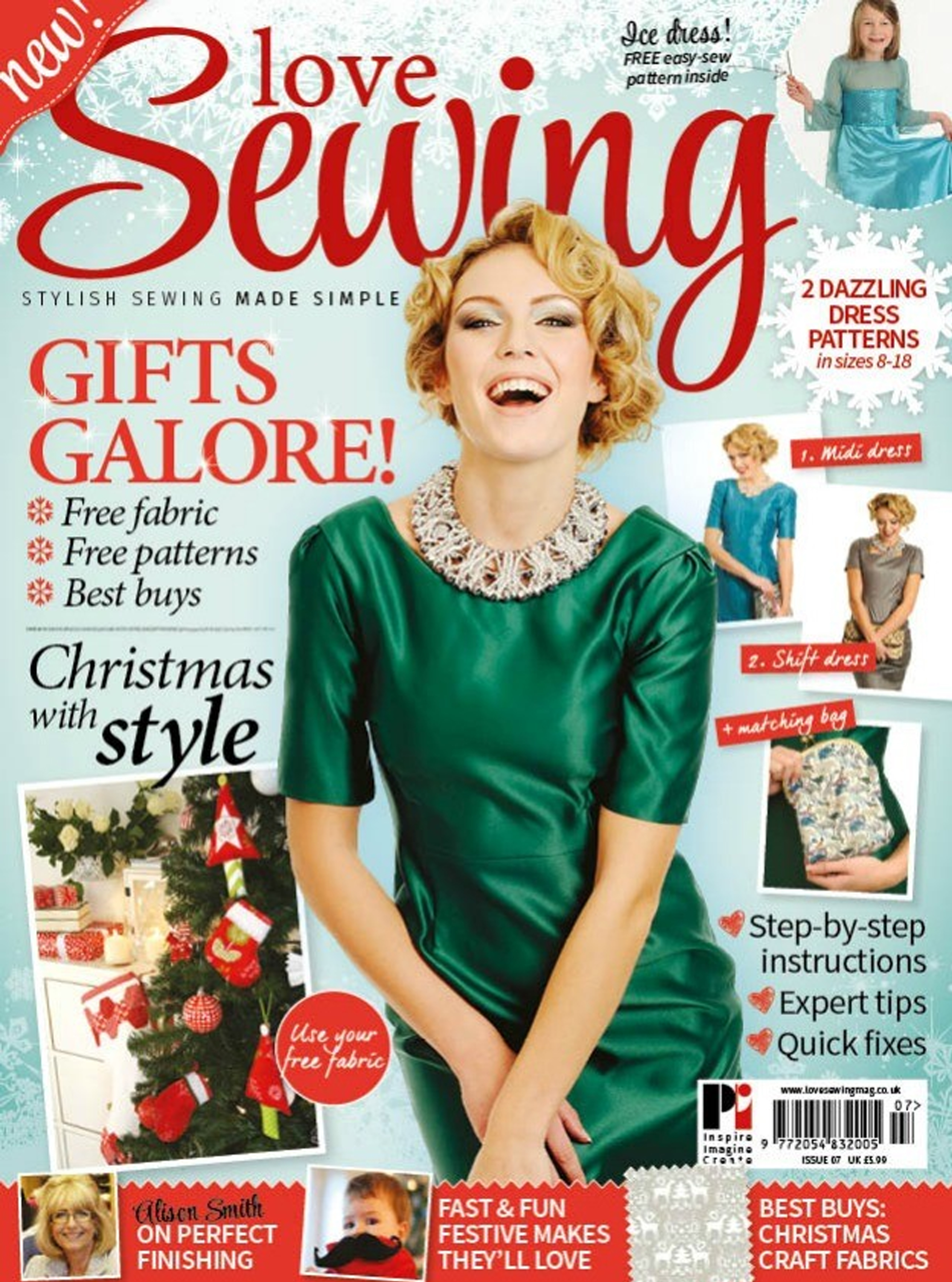 Love Sewing Issue 7 Front Cover
