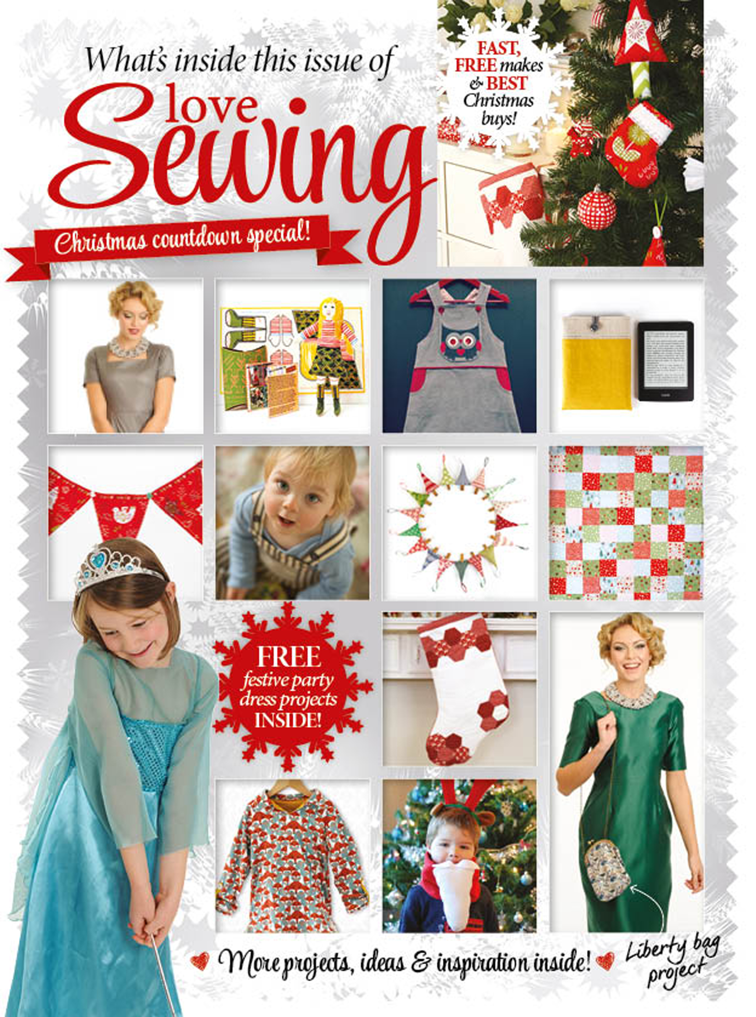 Love Sewing Issue 7 What's Inside