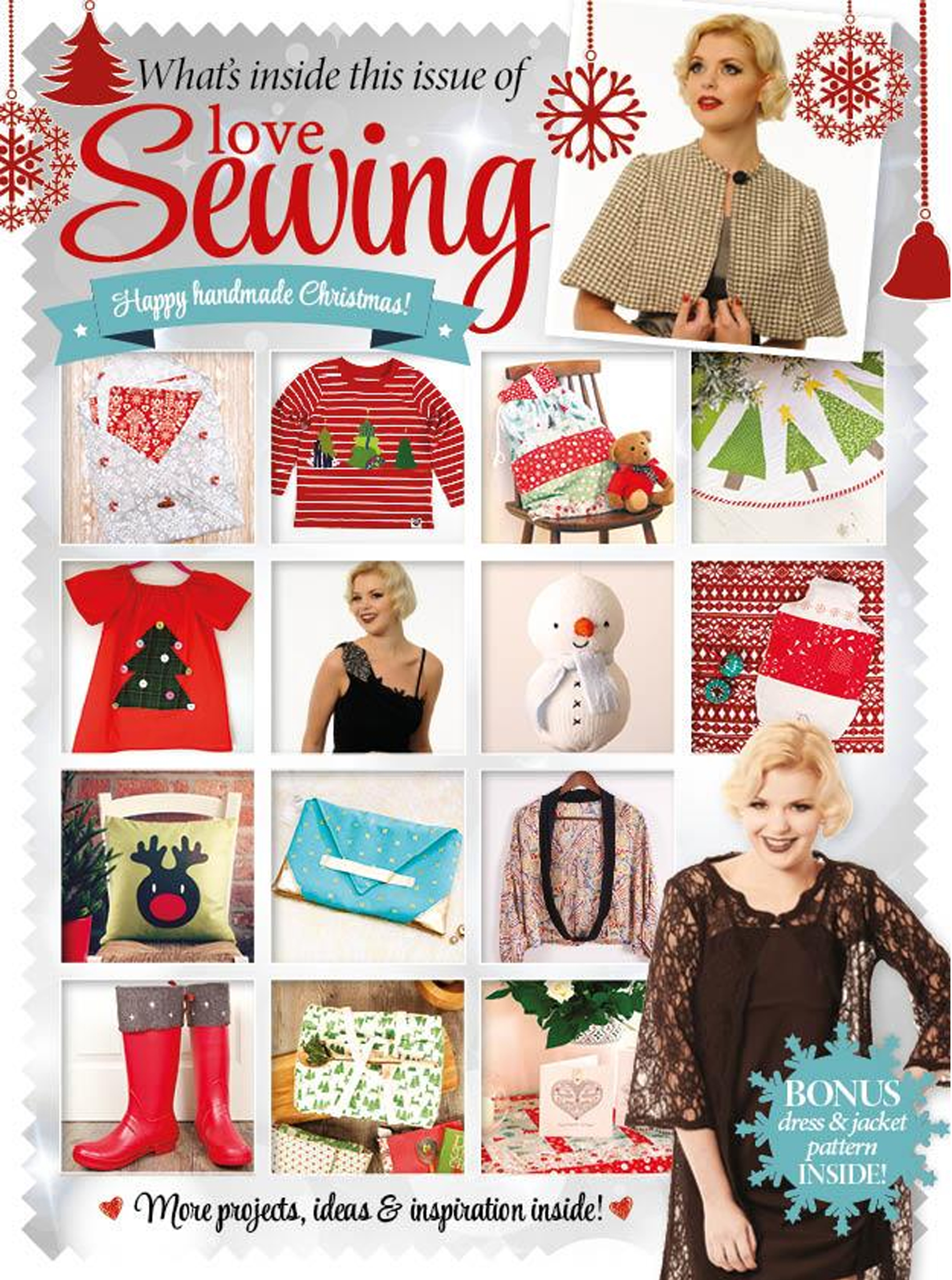 Love Sewing Issue 8 Whats Inside