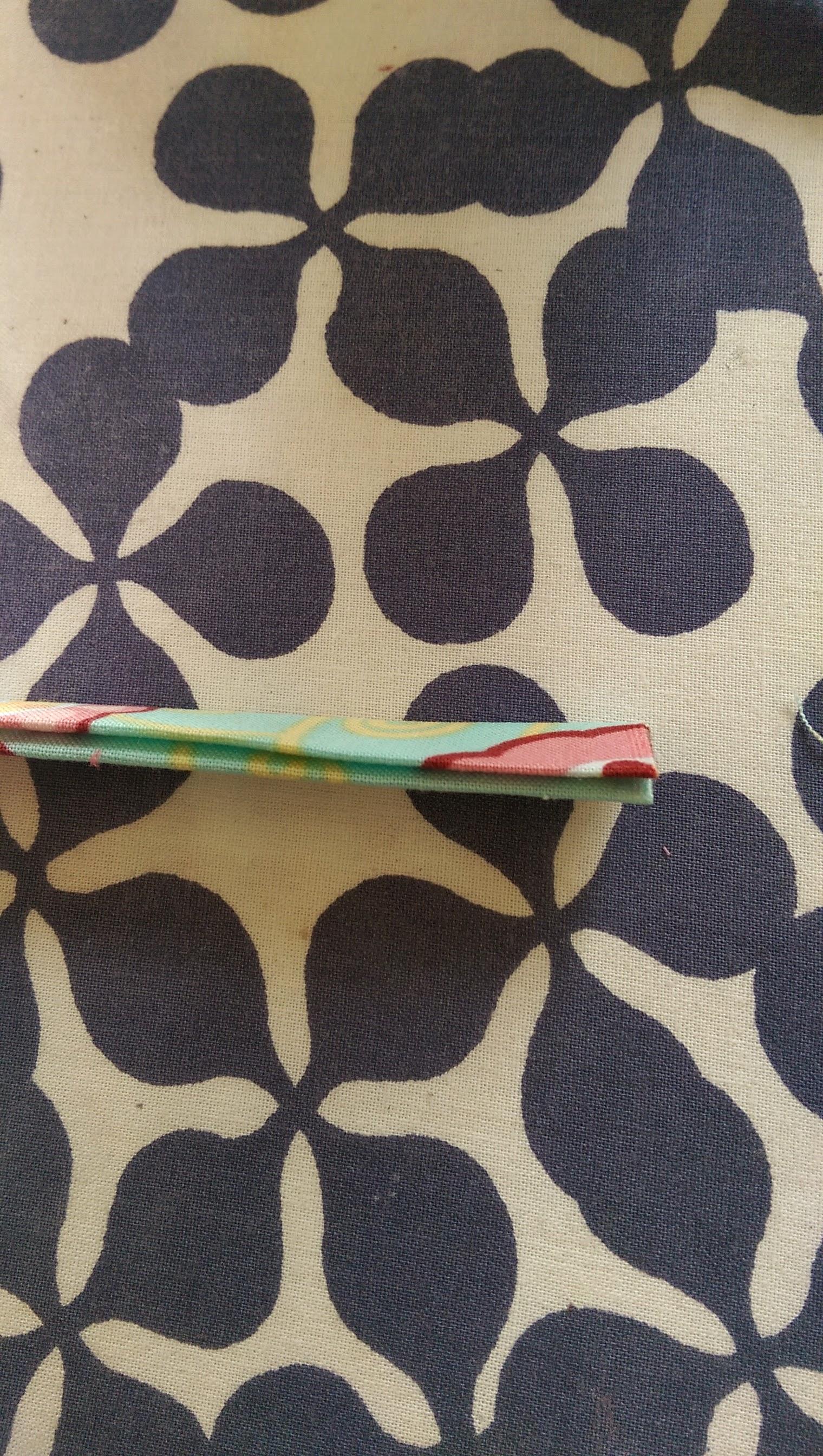 twice folded strip