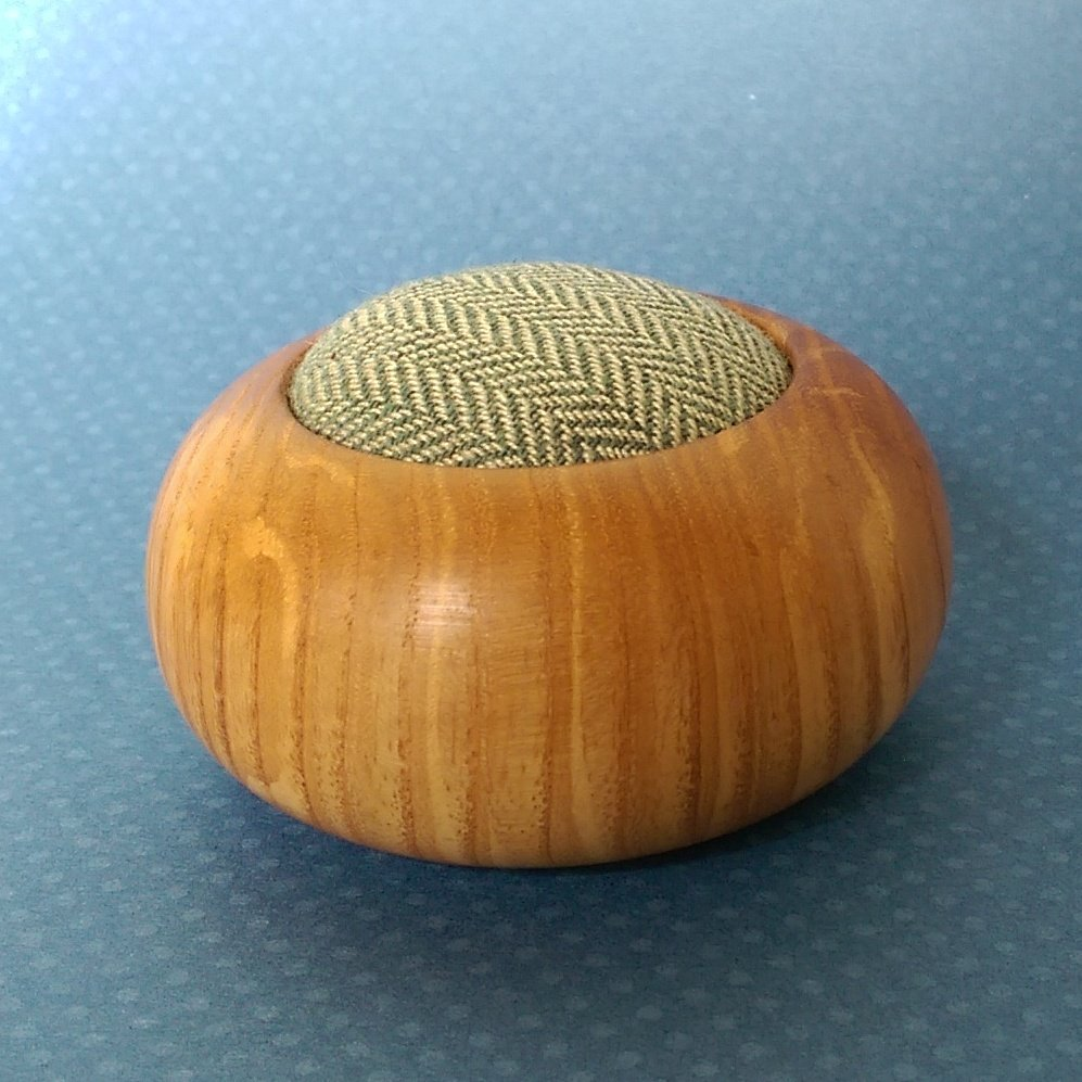 Wooden Pin Cushion from Beyond Measure
