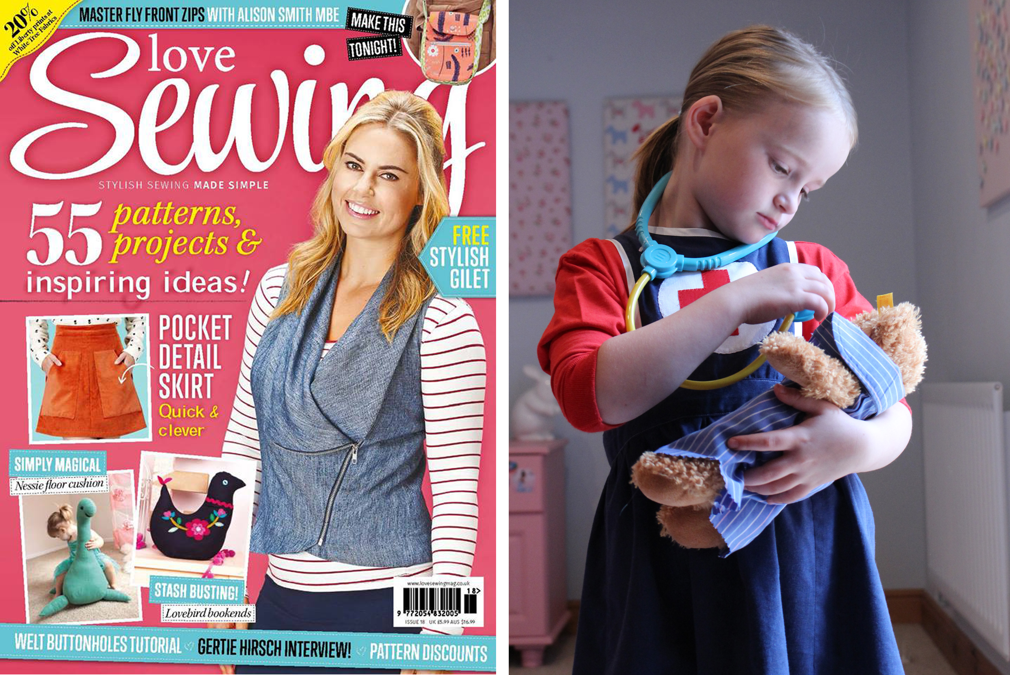 Love Sewing Issue 18 Nurse Apron