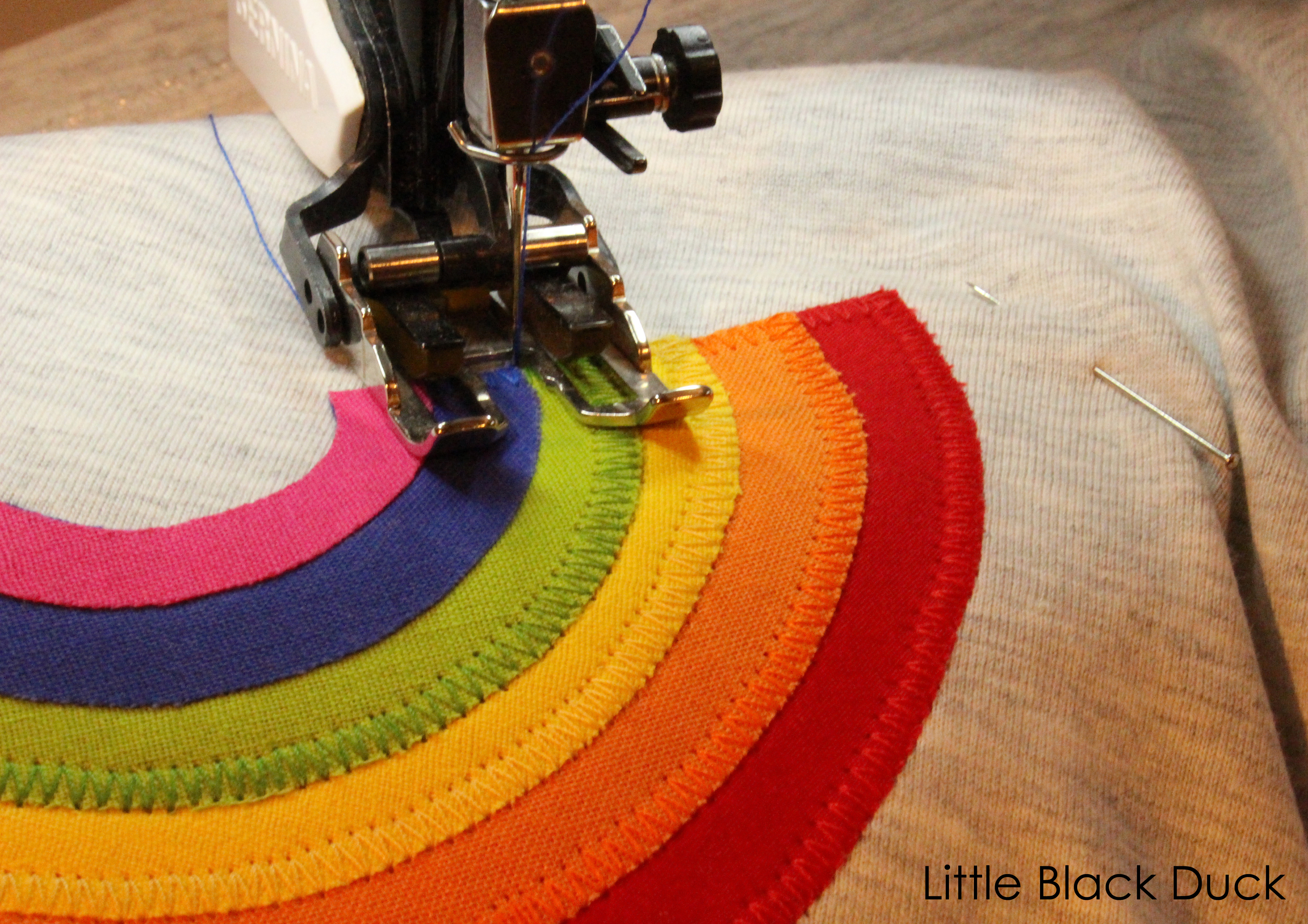 Pic B Sewing the rainbow blog