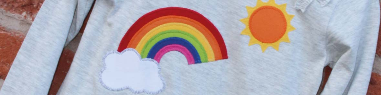 Rainbow Applique FREE Templates