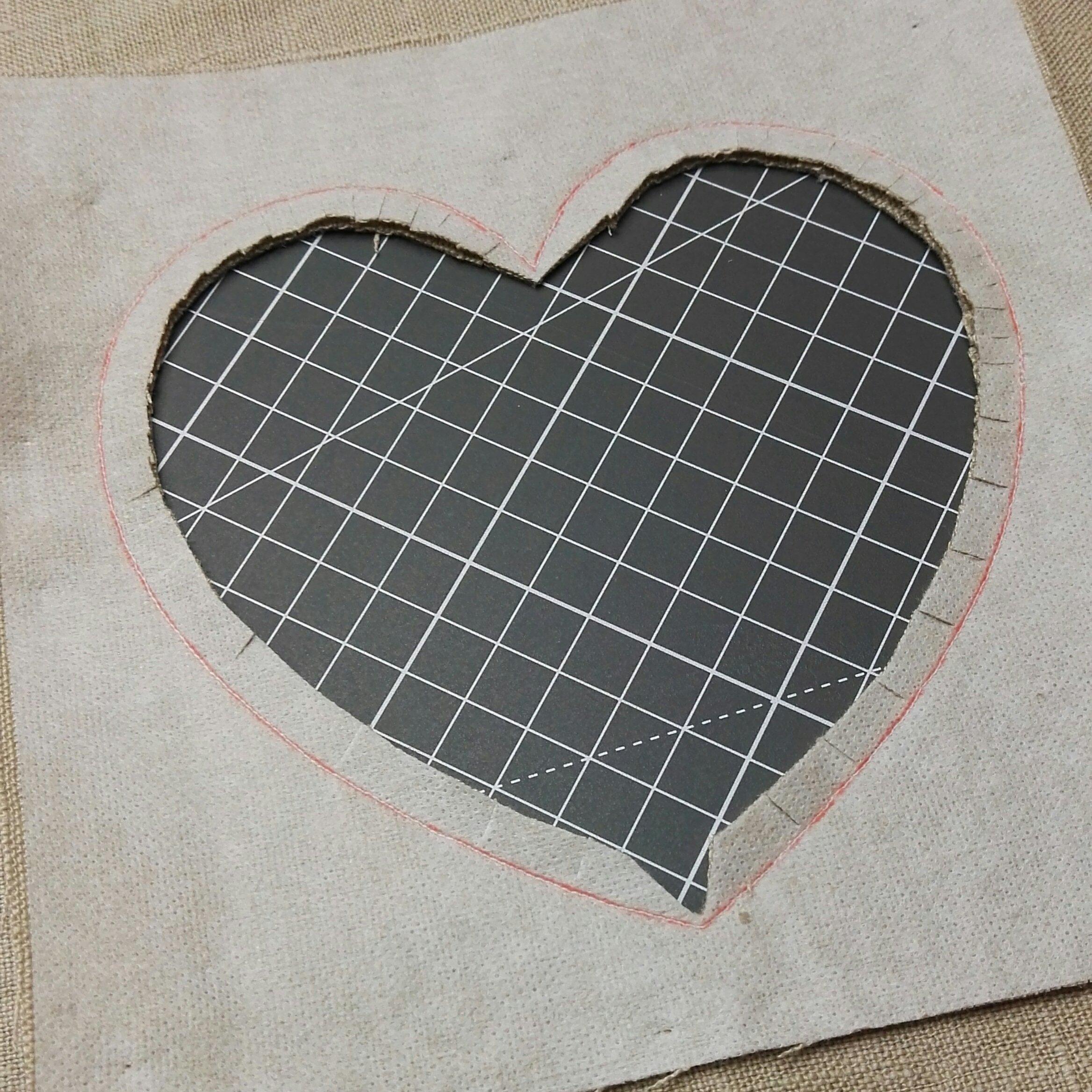 trim the heart