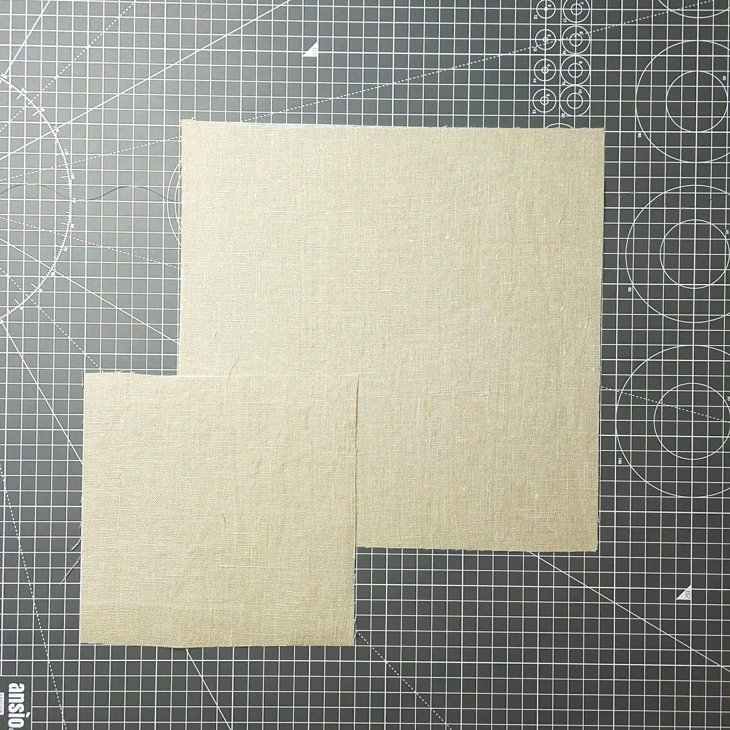 Cut the background fabric