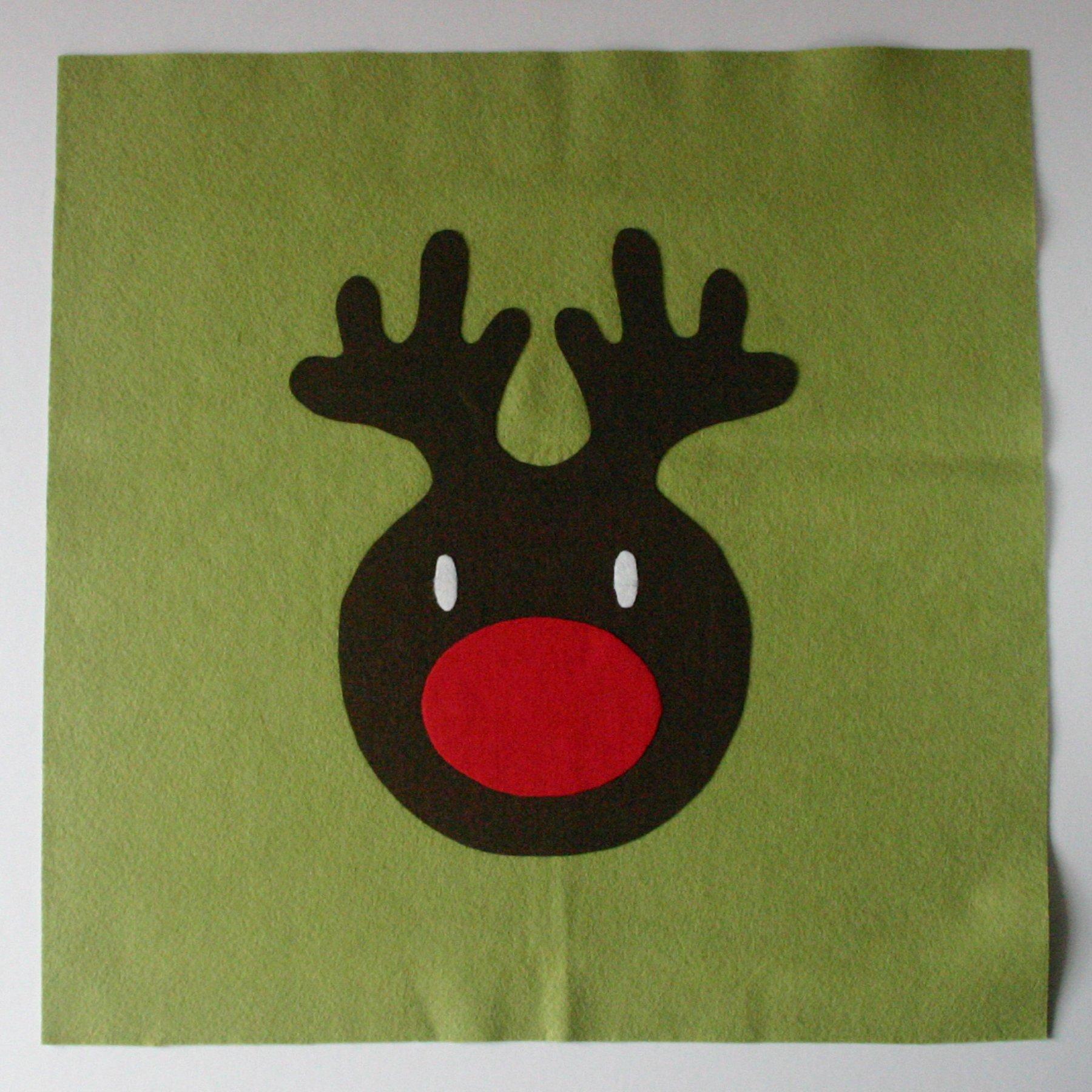 Arranging the Reindeer Head