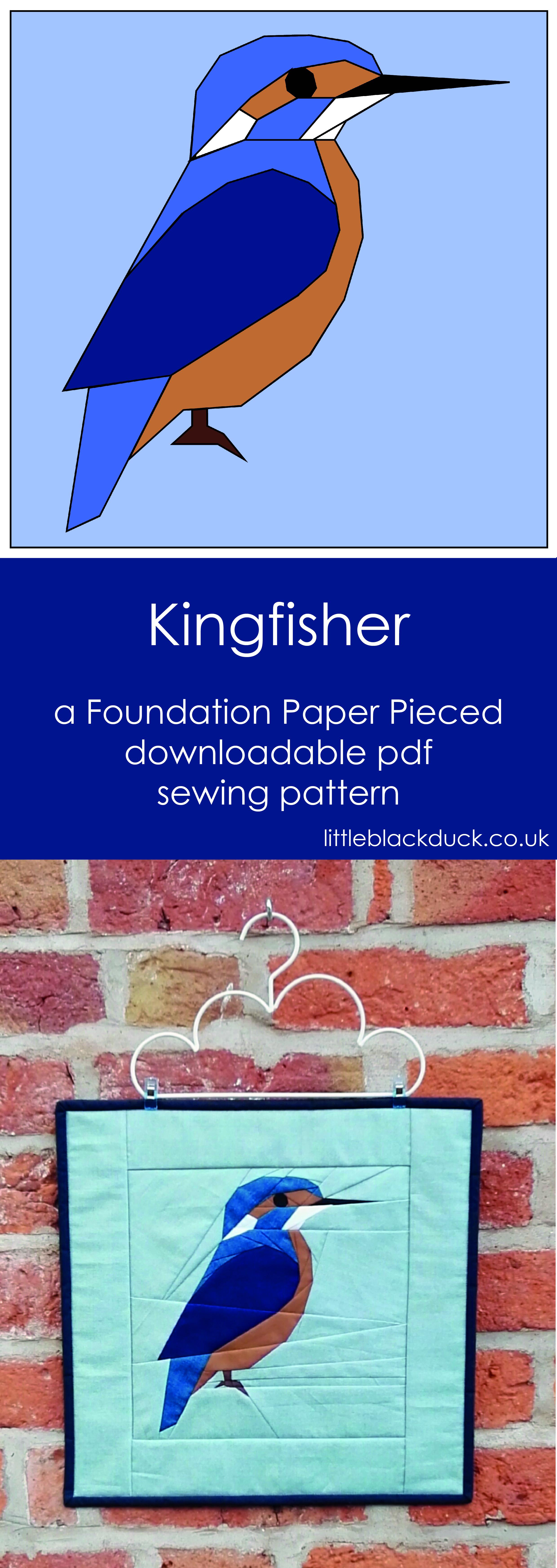 Kingfisher FPP pdf pattern