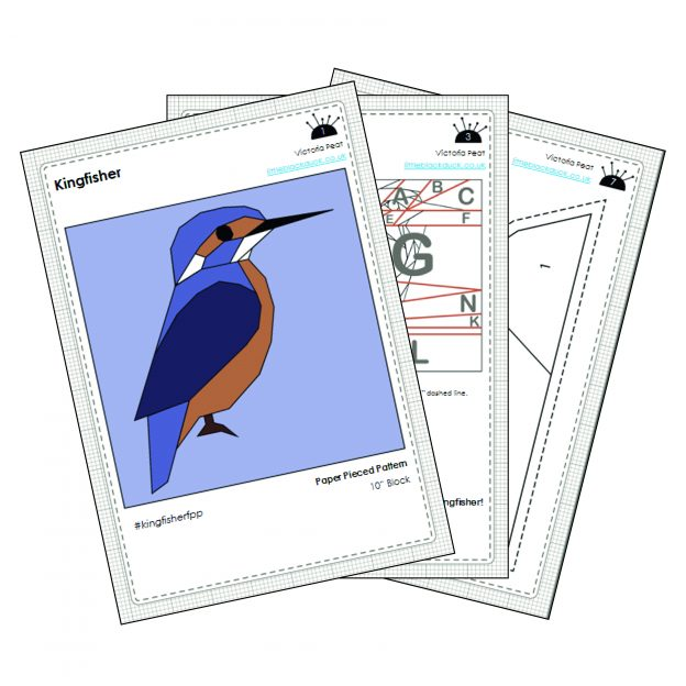 Kingfisher FPP Sample pattern pages