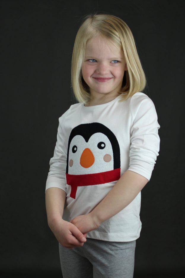 Penguin Applique T-Shirt