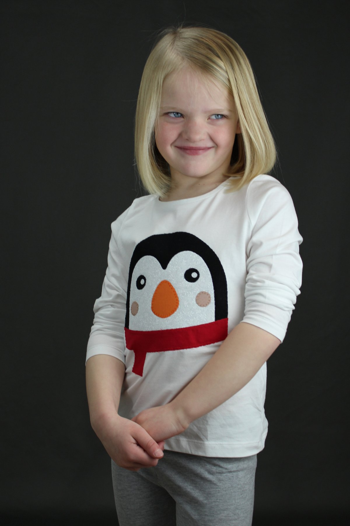Penguin Applique T-Shirt
