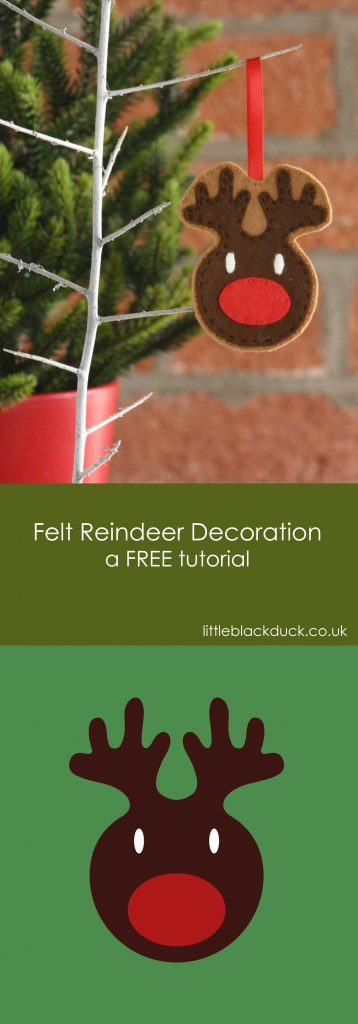 Reindeer Decoration FREE Tutorial