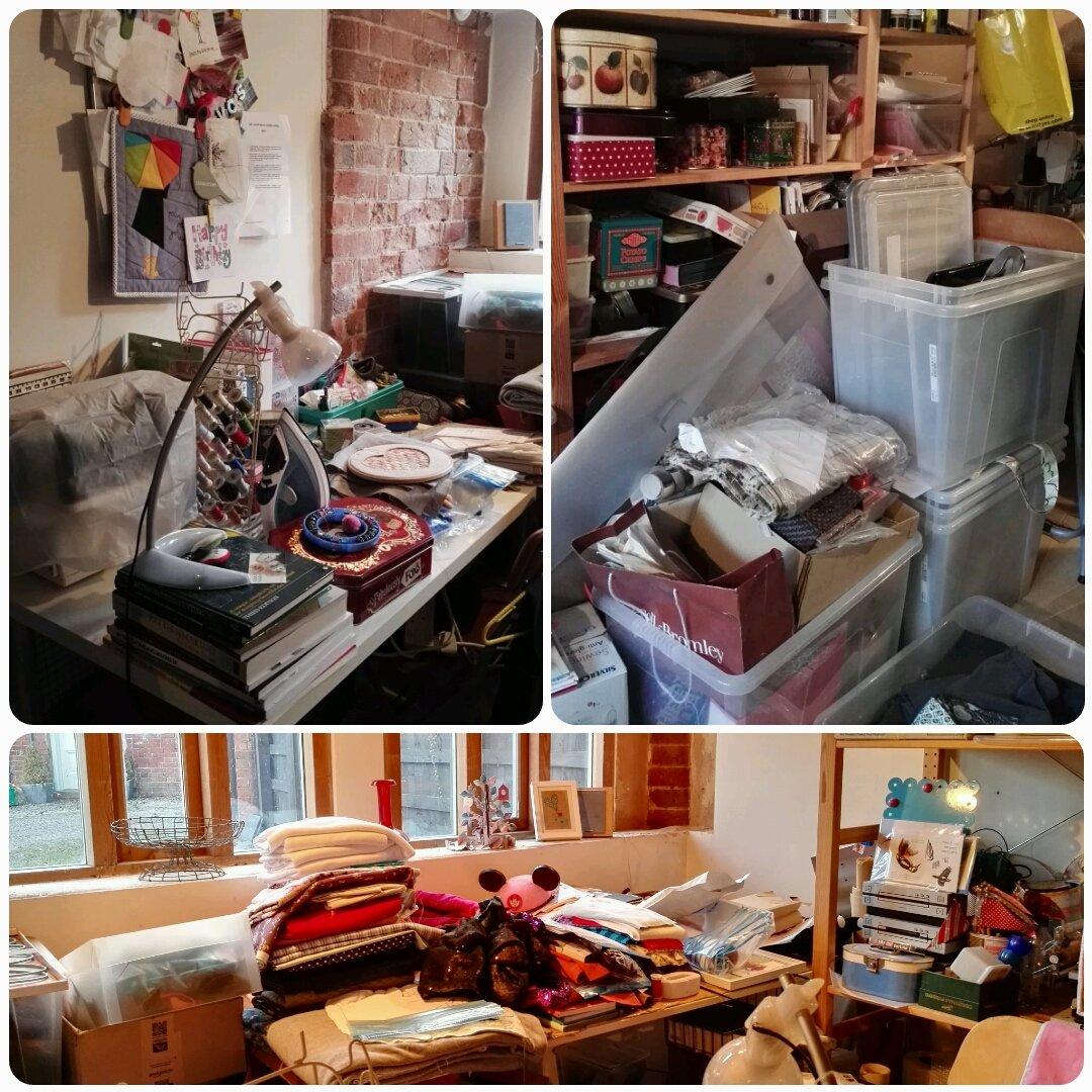 Messy Studio Jan 2017