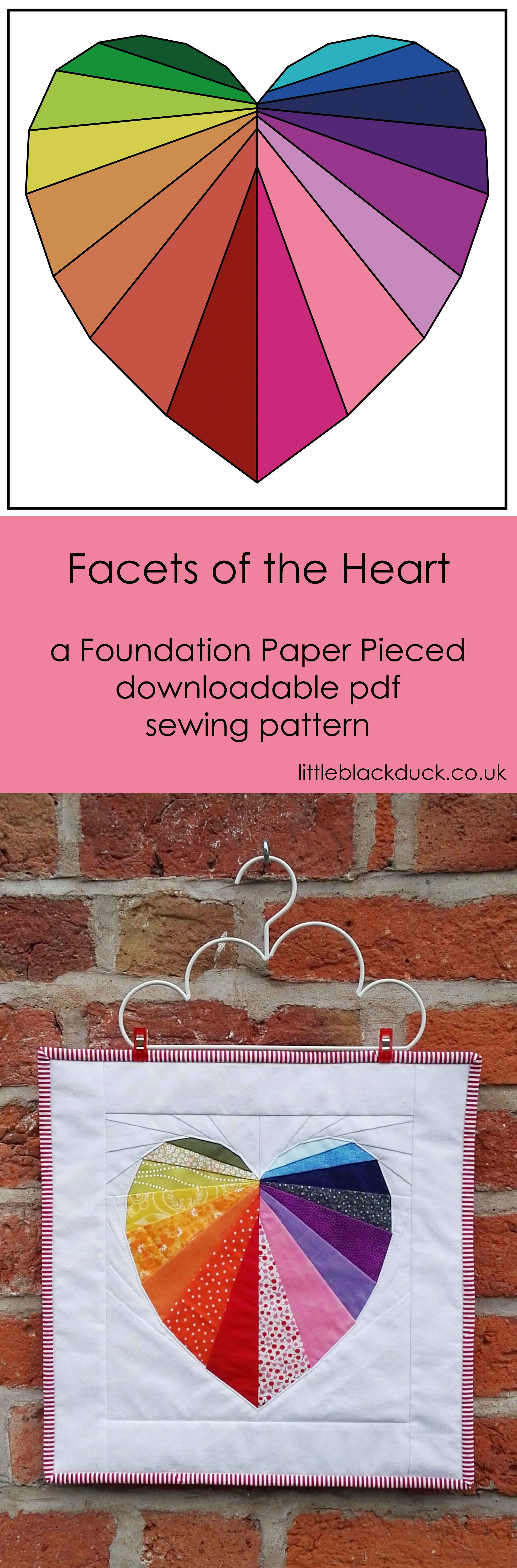 Facets of the Heart FPP pattern