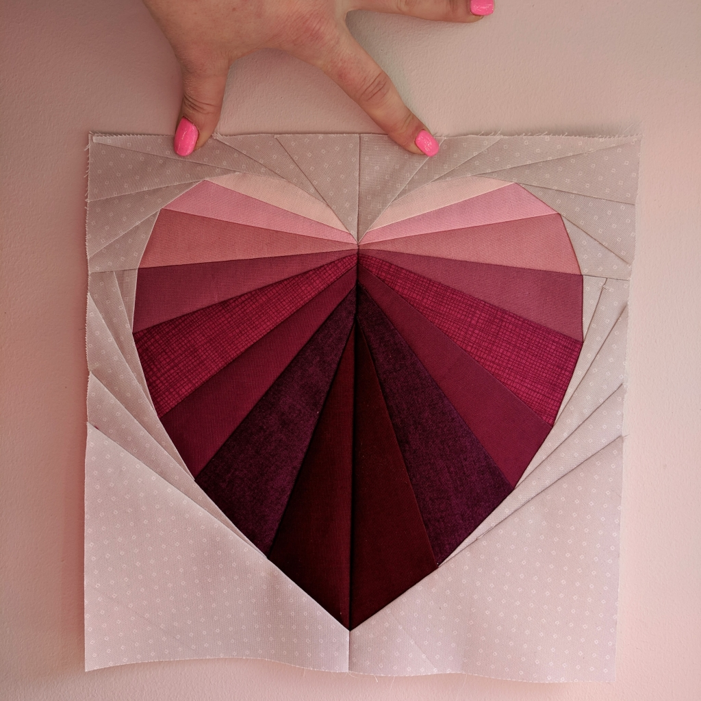 Pink and Purple Facets of the Heart