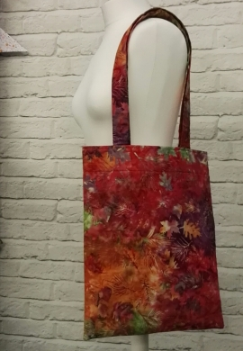 Batik Tote Bag for the Sewing Quarter