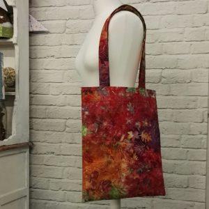 Batik Tote Bag for the Sewing Quarter