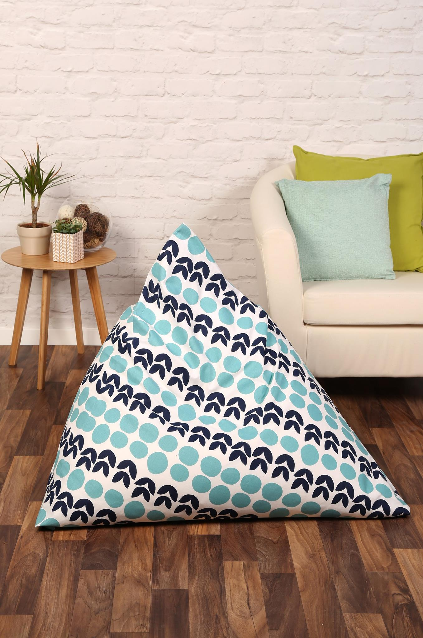 Pyramid Beanbag for Sew Now magazine
