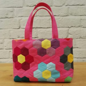 Hexie Bag for the Sewing Quarter