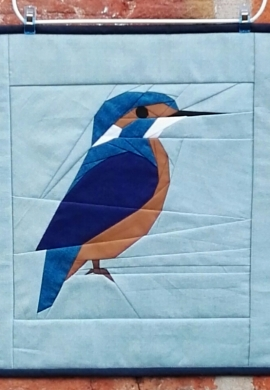 Kingfisher FPP block pattern