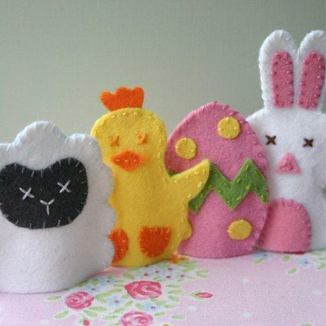 Easter Friends Finger Puppets pdf