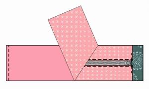 sew one short edge
