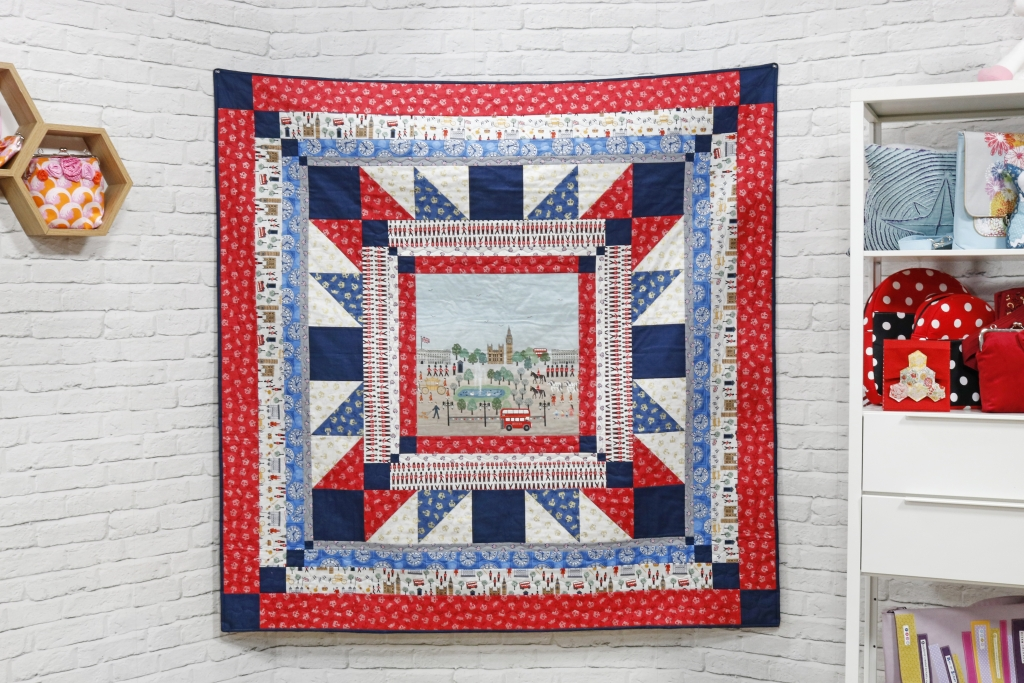 Britannia Finished quilt at SQ