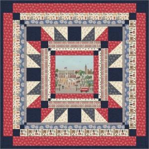Britannia Square Quilt